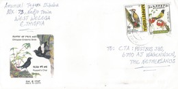 Ethiopia 2000 Nedjo Black Headed Forest Oriole Bird Woodpecker Cover - Ethiopië