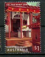 Christmas Island 2006 $1.00 Tai Pak Temple Issue #458a - Christmas Island