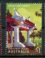 Christmas Island 2006 $1.00 Soon Tian Temple Issue #458b - Christmas Island