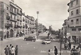 SALEMI  /  Piazza Libertà E Via Matteotti  _ Viaggiata - Trapani