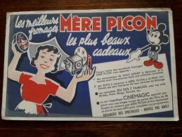 L18/1 Buvard. Mere Picon. Fromage - Alimentare