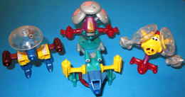 K02 N34-35-36-37  ROBOT COMPLETA    KINDER - Lots