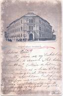 ALTE AK  SZEGED / Ungarn  - Allami Förealiskola -  1903 Gelaufen - Ungheria