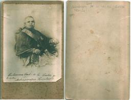RELIGION Cardenal LUIS De La LASTRA Y CUESTA Arzobispo De Sevilla CRISTIANISMO CHRISTIANITY Cabinet Card 1870's - Fotos