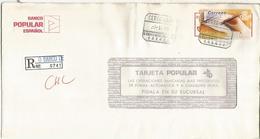 ORENSE O BARCO DE VALDEORRAS CERTIFICADA  CC CON ATM MANO HAND ESCRITURA WRITING - 1931-Hoy: 2ª República - ... Juan Carlos I