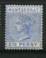 Montserrat 1884 2 1/2p Queen Victoria Issue #8 - Montserrat