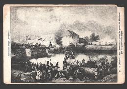 Révolution Belge - 21 Octobre 1830 - Attaque Et Prise Du Pont De Waelhem Par Les Patriotes Belges - Dos Simple - Guerres - Autres