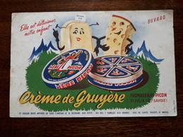 L18/4 Buvard. Mere Picon. Creme De Gruyere - Food