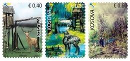 Kosovo Stamps 2019. National Park Blinaja. Fauna. Deer. Set MNH - Kosovo