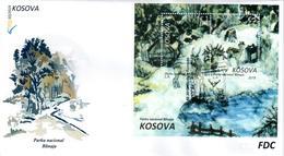 Kosovo Stamps 2019. National Park Blinaja. Fauna. Deer. FDC Block MNH - Kosovo