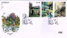 Kosovo Stamps 2019. National Park Blinaja. Fauna. Deer. FDC Set MNH - Kosovo