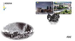 Kosovo Stamps 2019. Cities Of Kosovo - Kaçanik. Castle. FDC MNH - Kosovo