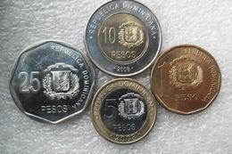 Dominicana Set : 1- 25 Pesos 2008 UNC - Dominicaine