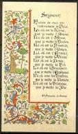 Souvenir De Ma Profession De Foi Faite En L'Eglise Saint Martin De Thorigny (77) - 11 Juin 1967 - Dominique FARGUE - Imágenes Religiosas
