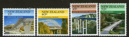 NEW ZEALAND, 1985 BRIDGES 4 MNH - New Zealand