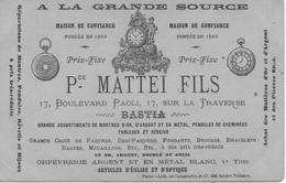 """(CORSE) BASTIA """" PUB MATTEI """" - Bastia"""