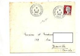 Lettre  Cachet Paris Semaine De L'agriculture - Marcophilie (Lettres)