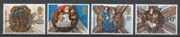 Great Britain 1974. Scott #732-5 (MNH) Christmas (Roof Bosses) ** Complet Set - 1952-.... (Elizabeth II)