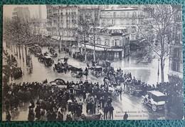 Cpa - 75 - Paris - Les Inondations De Paris En 1910 - Boulevard Diderot Et Rue De Bercy - La Crecida Del Sena De 1910