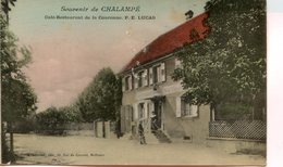 CHALAMPE(CAFE RESTAURANT) - France