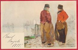 Litho-AK (Holländische Typen) ~ 1899 - Europe