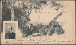 Recuerdo De Tanger, 1899 - Valentin Hell CPA - Tanger