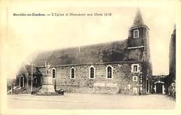 Neuville-en-Condroz - L'Eglise Et Monument Aux Morts 14-18 - Neupré