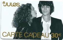Carte Cadeau - Jules     -  GIFT CARD /GESCHENKKARTE - Cartes Cadeaux