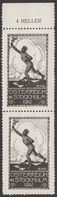 Stockholm 1912 Summer Olympics Olympic Games LABEL CINDERELLA VIGNETTE - MNH - AUSTRIA - Sommer 1912: Stockholm