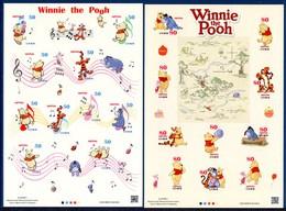 Japon Nippon 2013 6086/105 Dessins Animés, Winnie The Pooh, Ourson - Disney