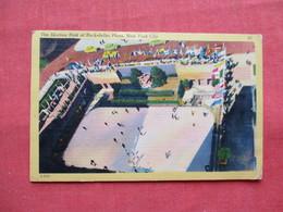 Skating Rink Rockefeller Plaza  NYC   >ref 3196 - Postcards