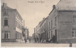 Genappe - Rue De Ways - Animé - Café Bourse - 1920 - Genappe
