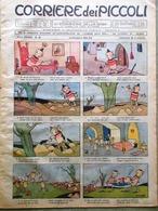 Corriere Dei Piccoli 14 Dicembre 1941 Gondar Maria Denis Carletto Piramidi Cani - Libri, Riviste, Fumetti