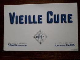 L18/9 Buvard. Vieille Cure - Liqueur & Bière