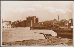 Castle Rushen, Castletown, Isle Of Man, C.1930s - RP Postcard - Isle Of Man