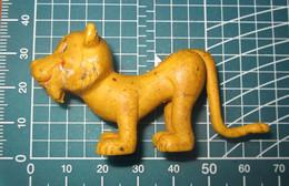 FELINE FELINO LEONE VINTAGE - Figurines