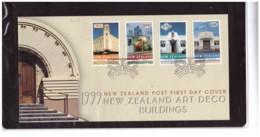 NZFDC248 - WANGANUI   10.2.1999   /  FDC Y.T. Nr.  1686/1689   (  CAT.  A.C.S.  Nr.   1544/1547  ) - FDC