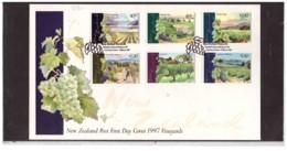 NZFDC252 - WANGANUI   19.3.1997   /  FDC Y.T. Nr.  1518/1523   (  CAT.  A.C.S.  Nr.   1378/1383  ) - Agricoltura