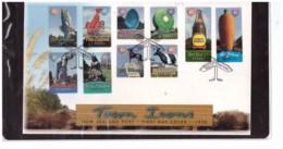 NZFDC253 - WANGANUI   7.10.1998   /  FDC Y.T. Nr.  1664/1673   (  CAT.  A.C.S.  Nr.  1515/1524  ) - FDC