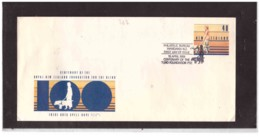 NZFDC262 -  WANGANUI  19.4.1989  /  FDC   CENTENARY OF THE BLIND FOUNDATION PSE  ( ENTIRE ) - Handicap