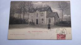 Carte Postale ( N5 ) Ancienne De Dompierre Sur Besbre , La Gare - France