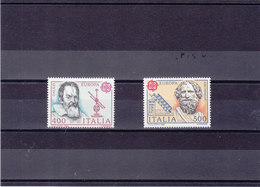 ITALIE 1983 EUROPA Yvert 1574-1575 NEUF** MNH - 1946-.. République