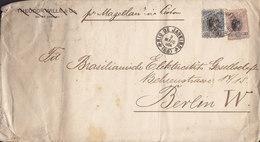 Brazil THEODOR WILLE & Co. (Erased) RIO DE JANEIRO 1904 Cover Brief BERLIN Germany Shipsmail 'Pr. MAGELLAN' Via Lisboa - Brasil