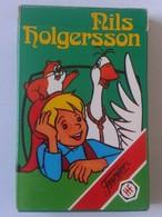 BARAJA DE CARTAS NAIPES FOURNIER NILS HOLGERSSON AÑO 1980. IMPECABLE. SIN USO. PLAYING CARDS. SERIE DE TVE TV. INFANTIL - Barajas De Naipe