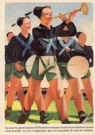 CARIPLO 1938 - LA NUOVA GENERAZIONE.......MUSSOLINI - NON VIAGGIATA - Publicité