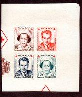 MONACO N°334/37B N** LUXE Cote 70 Euros !!! - Monaco