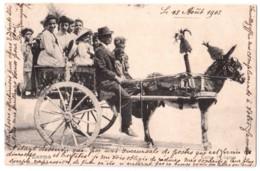 Palermo - Carro Siciliano - édit. P. Josef Bachem  + Verso - Palermo
