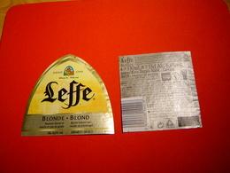 ETIQUETTE BIERE / ABBAYE DE LEFFE / BLONDE / BELGIQUE - Bière