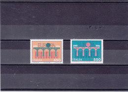 ITALIE 1984 EUROPA Yvert 1618-1619 NEUF** MNH - 1946-.. République