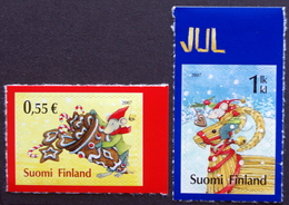 Finland 2007   MiNr.1868-69   MNH (**)    ( Lot  F 1426 ) - Unused Stamps